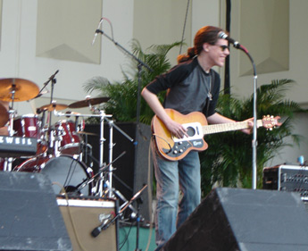 conrad performing at great atlantic music & seafood festival