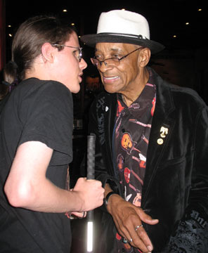 conrad and hubert sumlin after playing together